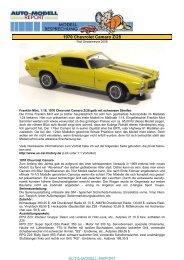 1970 Chevrolet Camaro Z/28 - Auto-Modell-Report