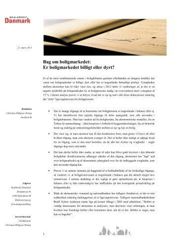 Bag om boligmarkedet: Er boligmarkedet billigt eller dyrt? (pdf)