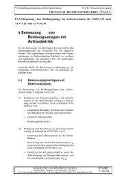 Kapitel B05.3.3 Übungen / ÜBUNGEN ZU B05.3 BEMESSUNG ...