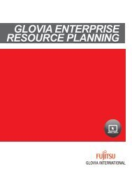 Product Overview Brochure - Glovia International, Inc.