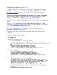 Siskind's Immigration Bulletin – July 23, 2012 - Siskind, Susser