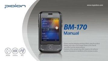 BM-170 User Manual
