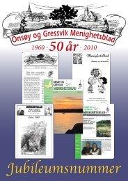 50 år med Onsøy og Gressvik menighetsblad - Mediamannen