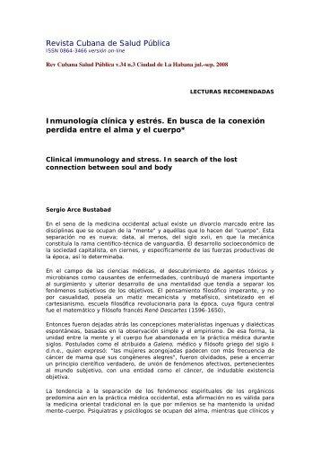 Revista Cubana de Salud Pública - Imbiomed