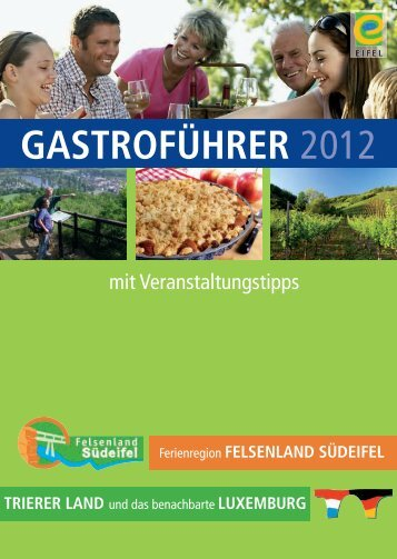 Gastroführer 2012 - Deutsch-Luxemburgische  Tourist-Information