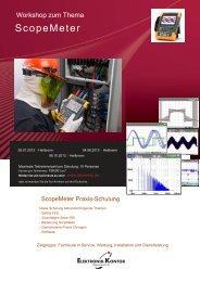 ScopeMeter - Elektronik-Kontor Messtechnik GmbH