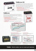 Motorcycle Battery Application and Specification Guide - MICRONIX ... - Page 3