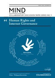 Human Rights and Internet Governance - Files only - Dateiablage