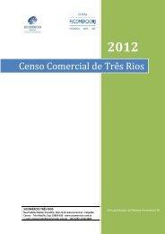 24/05 Veja o levantamento do Centro Comercial de Três Rios em ...