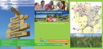 Gastgeberverzeichnis 2012 - Deutsch-Luxemburgische  Tourist  ...