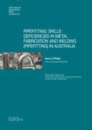 pipefitting - International Specialised Skills Institute