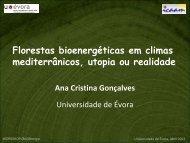 Florestas bioenergéticas em climas mediterrânicos ... - Altercexa