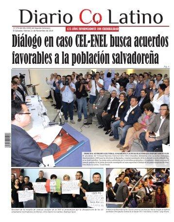Edición 21 de Noviembre de 2014