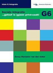 Essay - Leefbaar Rotterdam