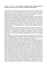 leggi relazione - Robertobombarda.it