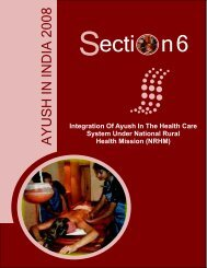 Section 6 Integration of Ayush in the Health Care System Under ...