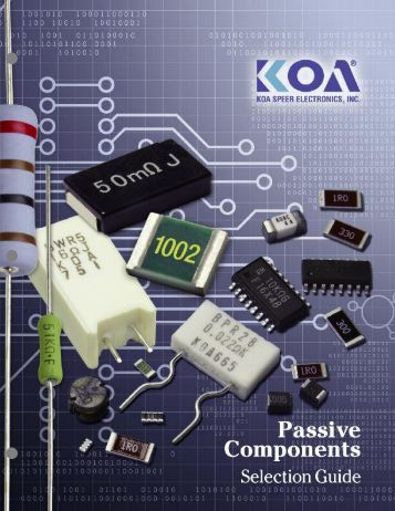 Surface Mount Components Selection Guide - KOA Speer Electronics