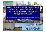 Investigación en Extremadura obtención biogás a partir ... - Altercexa