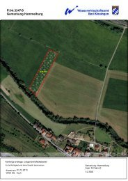 Mustervertrag I - Wasserwirtschaftsamt Bad Kissingen - Bayern
