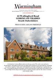 42 Wallingford Road GORING ON THAMES South ... - Warmingham