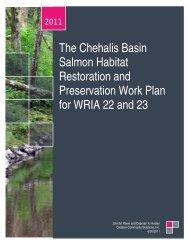 The Chehalis Basin Salmon Habitat Restoration and Preservation ...