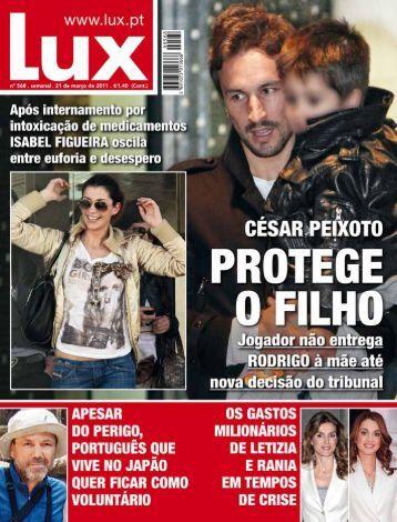Leia toda a entrevista na edição impressa disponível - Lux - Iol