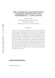 arXiv:gr-qc/9811036 v1 11 Nov 1998 - Crete Center for Theoretical ...