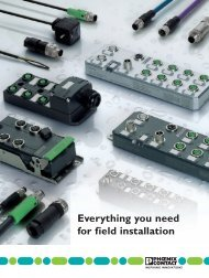 Everything you need for field installation - Phoenix Contact