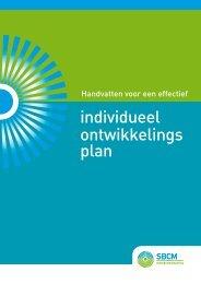 Handvatten voor een effectief individueel ontwikkelings plan - SBCM
