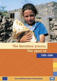 The Barcelona process, five years on 1995-2000 - emwis