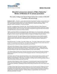 Meru Winter of Wireless Winners Announced 2011-10-24 - Wavelink