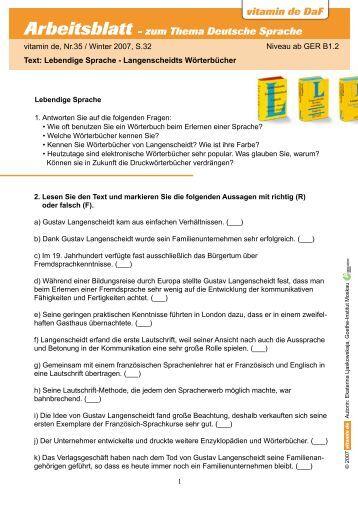 vitamin de daf arbeitsblatt zum thema berlin deutsch lernen mit. Black Bedroom Furniture Sets. Home Design Ideas