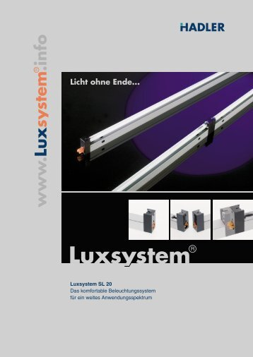 Katalog SL 20 - Luxsystem