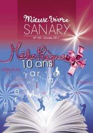 Mieux Vivre N°150 - Octobre 2011 (.pdf - 2,45 Mo) - Sanary-sur-Mer