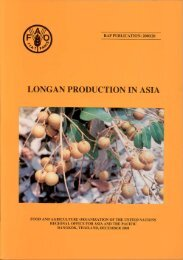 Longan production in Asia - United Nations in Indonesia