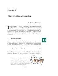 Chapter 3 - Discrete time dynamics - ChaosBook