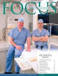 IN FOCUS features - Jordan Hospital