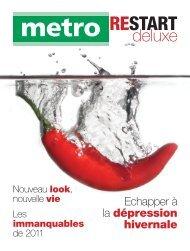 Echapper à la dépression hivernale - Metro