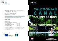SCHIPPERS GIDS - Scottish Canals