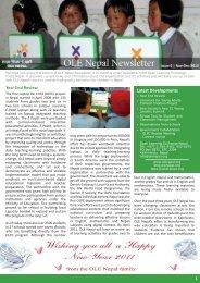 Download Nov-Dec 2010 Newsletter - OLE Nepal