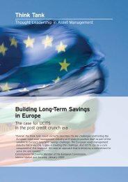 Building Long-Term Savings in Europe - Fund Academy, Aus
