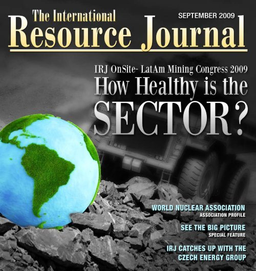 1 September 2009 | International Resource Journal | - The ...