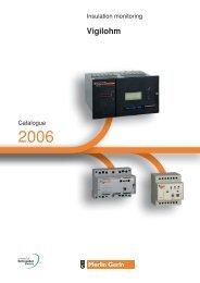 Vigilohm System - engineering site - Schneider Electric