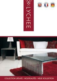 COLLECTION UPDATE / NOUVEAUTÉS / NEUE ... - Lychee Furniture