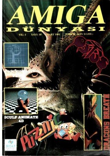 Amiga Dunyasi - Sayi 10 (Mart 1991).pdf - Retro Dergi
