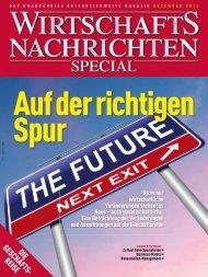 Ausgabe 12/2012 Wirtschaftsnachrichten Special: Die Geschäftsreise