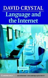 Language_and_ The_Internet