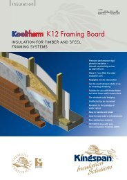 K12 Framing Board - Kingspan Insulation - Kingspan Group PLC