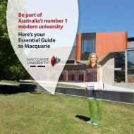 Be part of Australia's number 1 modern university Here's ... - Info Day