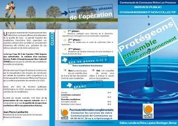 Brochure d'information - Communauté de Commune Rhone Lez ...